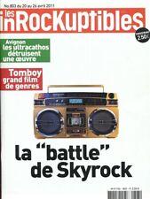 Les Inrockuptibles #803 -SKYROCK- Tomboy, Stupeflip,...