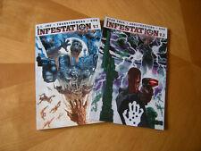Infestation V.1 & V.2 (GI Joe,Transformers,Star Trek, etc) Graphic Novels...NEW