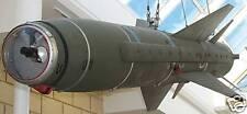 Megaton Martel BAE Sytem Nuclear Bomb Kiln Dried Wood Model Replica Small New
