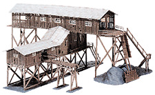 OLD COAL MINE 42x37cm 94pcs HO 1/87 scale Plastic kit by Model Power 316