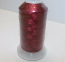 100% Polyester Embroidery Thread - Toasty Red - 1100Y - 40/2 - Ships Free
