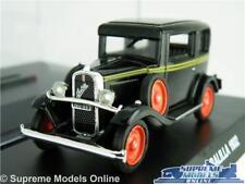 FIAT 508 BALILLA MODEL CAR 1:43 SCALE BLACK + DISPLAY CASE 1932 NOREV K8