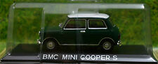 MINI COOPER S 1:43 Car model die cast models cars diecast green metal bmc