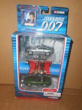 Corgi James Bond 007 Aston Martin Jaguar XKR Set + 2 Figures Die Another Day