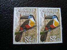 TRINITE ET TOBAGO - timbre yvert/tellier n° 657 x2 oblitere (A43)