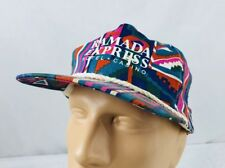 Vtg Ramada Express Hotel Casino Hat Snapback Cap Southwestern All Over Print