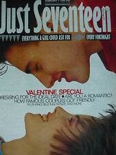 JUST SEVENTEEN MAGAZINE 7/2/85 - BILLY MACKENZIE (THE ASSOCIATES) /PAUL KING