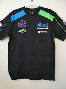 NEW Kawasaki Silicone Engineering MotoGP Racing Official Team T-Shirt  XS - XXXL