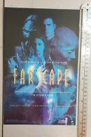 Farscape Tv Show RARE Print Advertisement