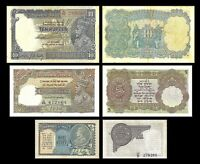 India -  2x  1, 5, 10 Rupees - Issue ND (1928 - 1935) - Reproduction - 11