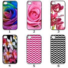 For Designer Hard Case Cover Personalised Flower and Chevron Collection 10b