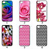 For Designer Phone Hard Case Cover Personalised Flower and Chevron Collection 10