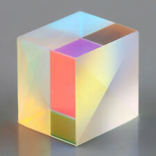 Defective Cube Cross Dichroic X-Cube Prism RGB Combiner Splitter Prism 2X2X1.7CM