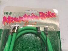 New-Old-Stock Casiraghi MTB Brake Cable/Housing Set - Neon Green