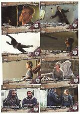 The Walking Dead Season 7 100 Trading Card Set TWD