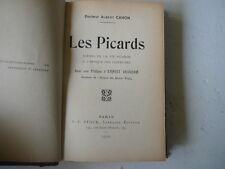 Les Picards scènes de la vie Picarde Albert Cahon 1910