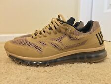 Nike Air Max+ 1 2013 QS USATF Track and Field Desert Brown, 582896-220, Size 13