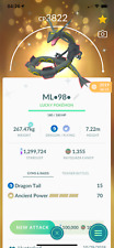 Pokemon Go Shiny Rayquaza L40 - Maxed CP - unlock 3 moveset -  PvP Master League
