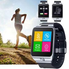 UNLOCKED! GSM Wireless + Bluetooth 2-in-1 Smart Watch Phone Camera Sim-Card Slot