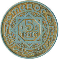 COIN / MOROCCO / 5 FRANC 1950      #WT4979