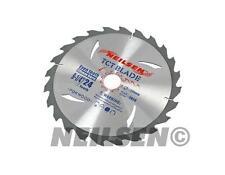3 Piece 235mm TCT Circular Saw Blade 24, 40 and 48 Teet Hardwood Chipboards