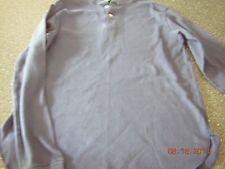 Women's 18 navy blue long sleeve shirt by Grand Slam Munsingwear - EUC