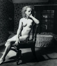 1950s Vintage BILL BRANDT Female Nude Woman Sitting England Photo Art 16X20