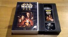 Star Wars Iii Revenge Of The Sith Uk Pal Vhs Video 2005 Ewan McGregor Rare