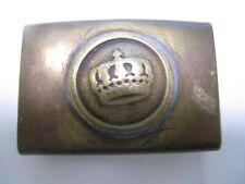 Wwi Imperial German Brass Trousers Belt Buckle