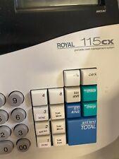 Royal 115cx Portable Electronic Cash Register Travel Money Management System