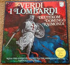 Verdi I Lombardi - Deutekom, Domingo, Raimondi , Philips 6703 032, 3 LPs