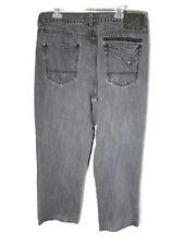 Sean John Straight Leg Gray Jeans Size 36x31 (TAG 38)