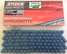 blu # super rinforzato catena 520 # YAMAHA WR450F # TECH S ESJOT Catena moto