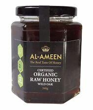 AL-AMEEN CERTIFIED ORGANIC WILD OAK HONEY 340g - REAL RAW HONEY