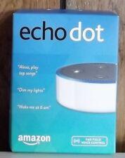 Amazon Echo Dot White 2nd Generation New!!  Free Shipping!!!