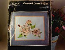 Charmin Jannlynn Cross Stitch Kit APPLE BLOSSOMS