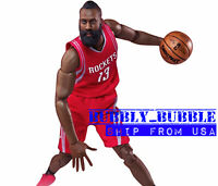 "1/6 James Harden Head Sculpt Houston Rockets For 12"" Hot Toys PHICEN Figure USA"
