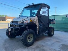 SAND CAMO EDITION Enclosed HEATED POLARIS RANGER XP900, Brand new Tires, Winch