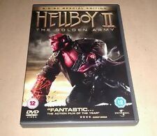 Hellboy 2 - The Golden Army (DVD, 2008, 2-Disc Set SPECIAL EDITION)