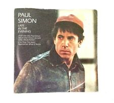 Paul Simon Late In The Evening / How The Heart Approaches... Movie Promo Release