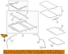 TOYOTA OEM 13-15 RAV4 Sunroof Moon Roof-Motor 632600R030