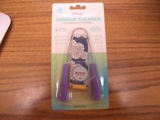 Dr Tung's Tongue Cleaner Adjustable PURPLE Sealed in Package with Travel Pouch