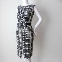 VERONIKA MAINE Sheath Dress Sleeveless Peplum Size 12 (US 8)