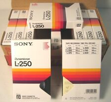 sony dynamicron l-250 beta, 10 cassette, new factory saled