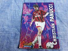 Trading card Calcio Panini 97 N°38 CHRISTIAN PANUCCI MILAN Soccer