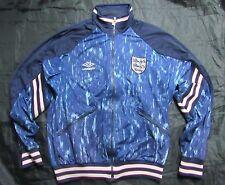 ENGLAND RETRO 1980s 1990s VINTAGE  ZIP TRACK JACKET WORLD CUP UMBRO adult size M