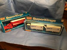 2 1978 Matchbox Superkings Trucks K-21 And K-31.Unpunched Factory Sealed NOS