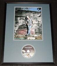 Jason Aldean Signed Framed 18x24 Photo & CD Display JSA Take a Little Ride
