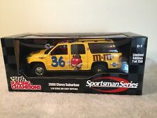 NASCAR, M&M Collectible 2000 Chevy Surburban and Triton Boat 1:18 Scale 1 of 750