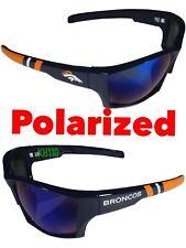NFL Denver Broncos polarized wrap sunglass